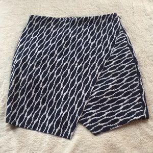 Loft fold over skirt size Small